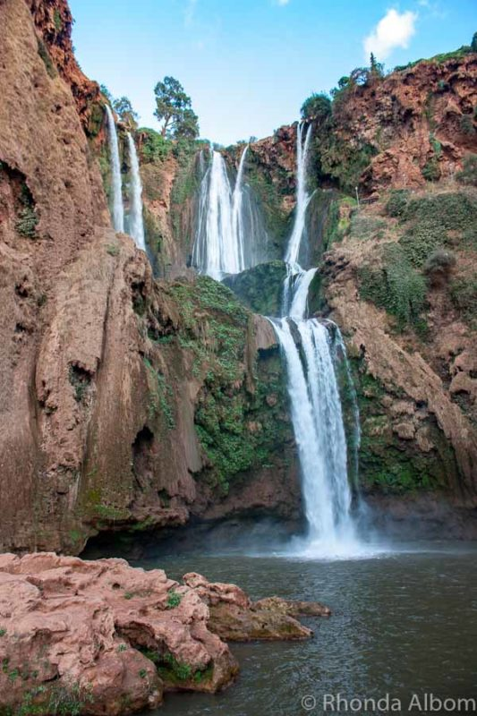 Cascade D'Ouzoud in Morocco