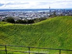 Great Views of Auckland from Extinct Mount Eden Volcano