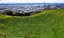 Volcanic Crater – #AtoZ Postcards of New Zealand