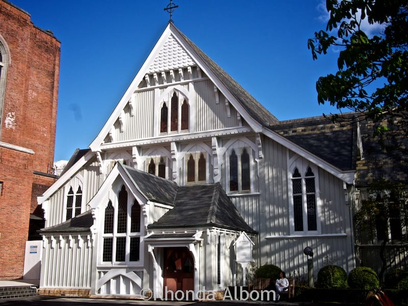 St Mary's built in 1886 is now part of the Holy Trinity Cathedral Complex in Parnell, Auckland New Zealand