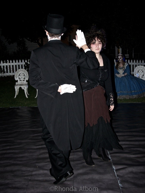 The Danse Macabre (Dance of Death) at The Olde Hallows Eve festival at MOTAT in Auckland New Zealand