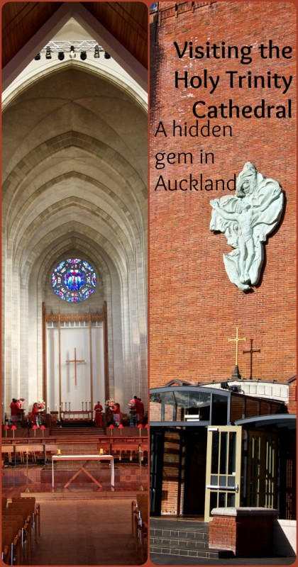 Don't let the outside of the Holy Trinity Cathedral in Auckland fool you - the unassuming brick houses a magnificent gem. For more photos visit the blog
