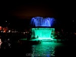 Colors of the Mission Bay Fountain: Auckland New Zealand