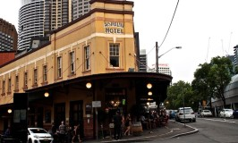 The Australian Hotel is owned by Richard Branson, and serves emu and kangaroo pizza