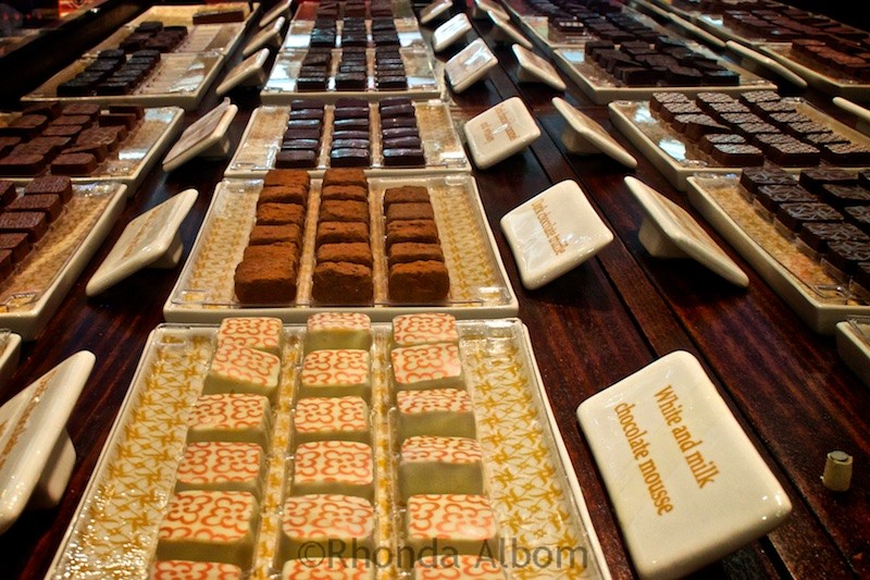 Max Brenner's Chocolate Bar has a retail store in Sydney Australia