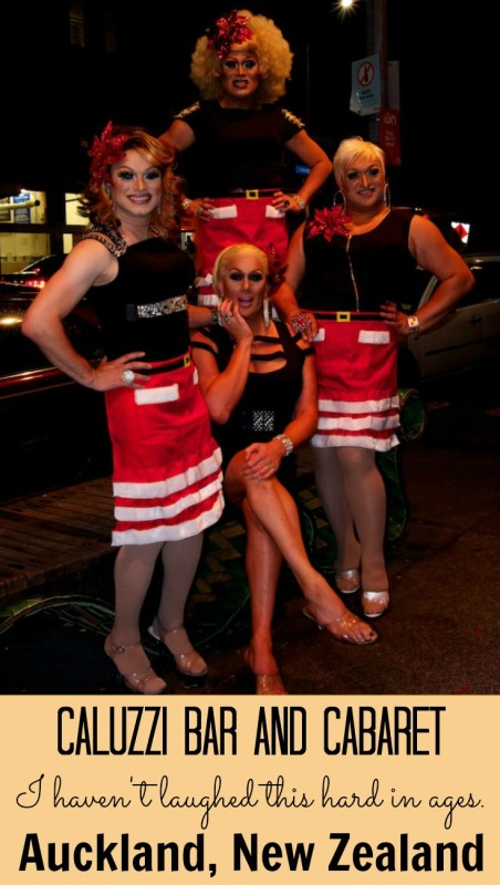 Caluzzi Bar and Cabaret Show is hilariuos fun in Auckland New Zealand