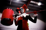 Harley Quinn from the DC comic universe - Armageddon expo