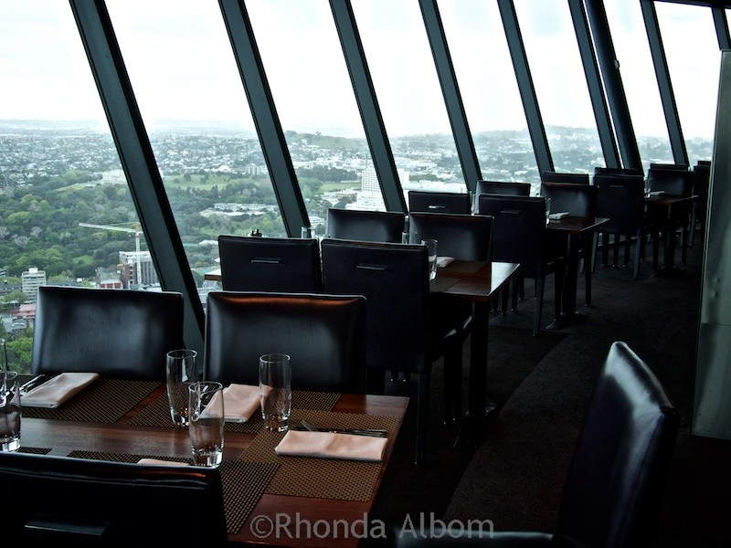 Orbit is New Zealand's only rotating restaurant on the top of the Auckland Sky Tower