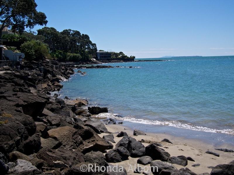 Takapuna to Milford Coastal Walk in Auckland New Zealand