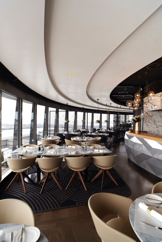 Sugar Club by Peter Gordon on Level 53 of the Auckland Sky Tower. - Credit 'Photography by Manja Wachsmuth