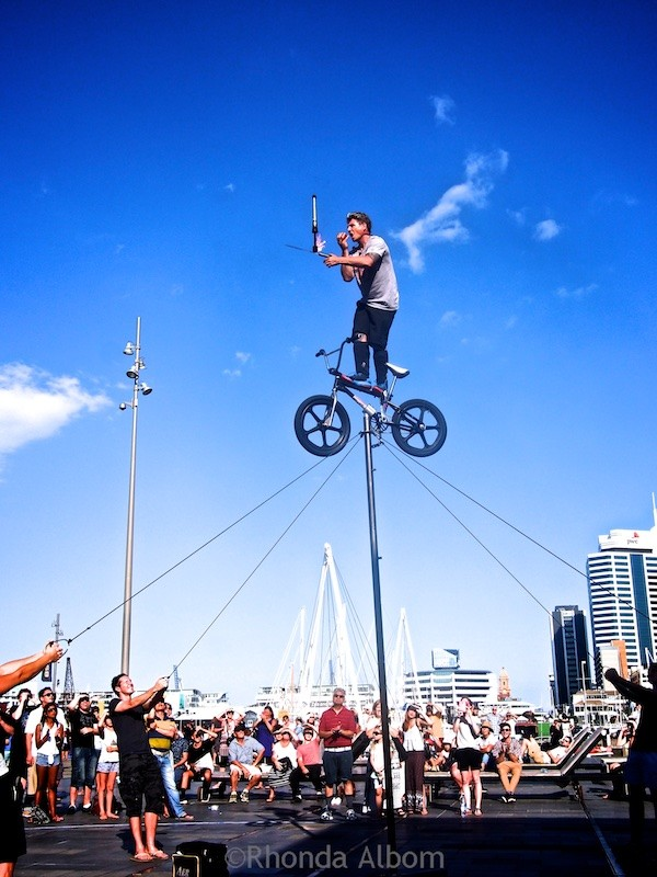 Auckland's International Buskers Festival, New Zealand