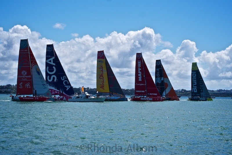 New Zealand Stopover of the Volvo Ocean Race Around the World