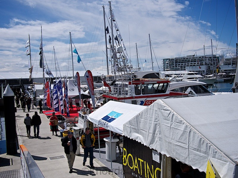 This is of my favorite Auckland festivals - the On the Water Boat Show.