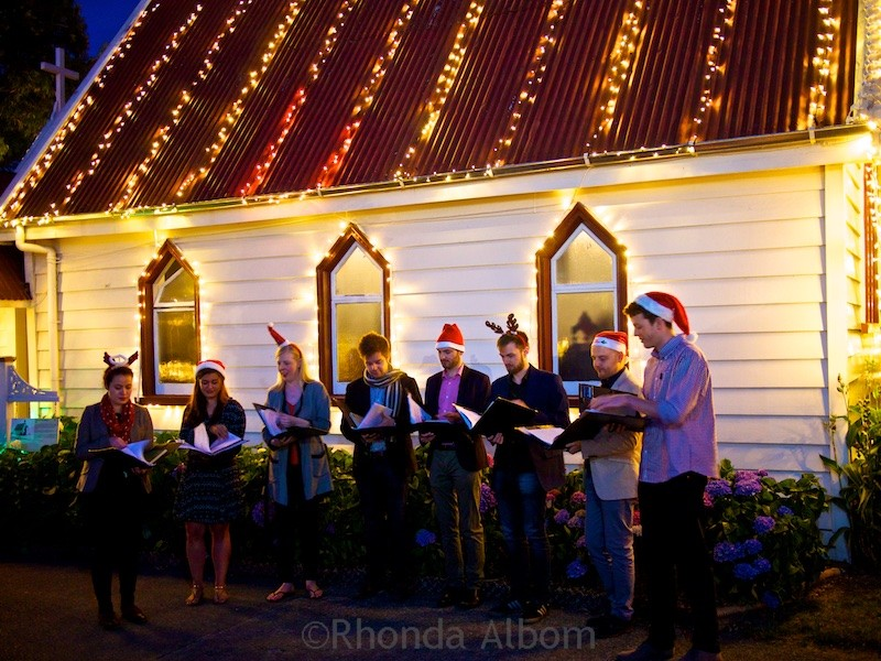MOTAT's Christmas Lights night, Auckland New Zealand