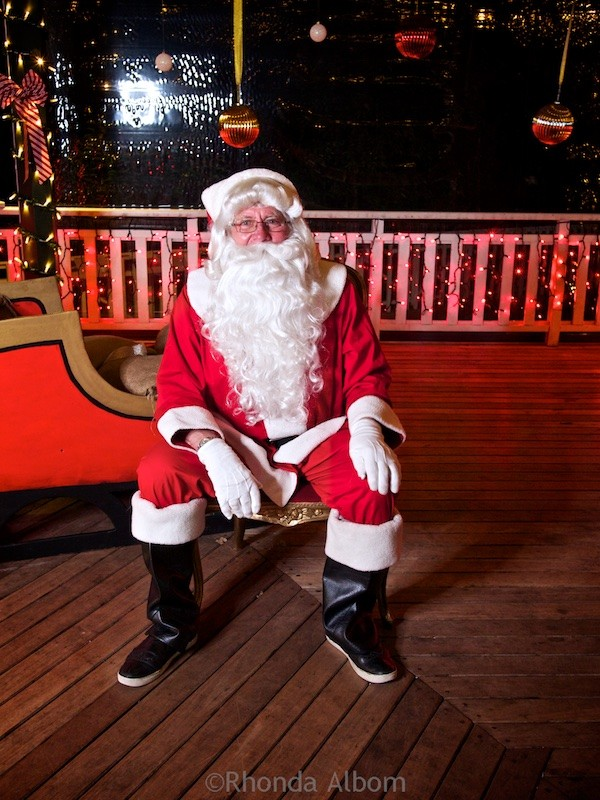 Santa at MOTAT in Auckland New Zealand