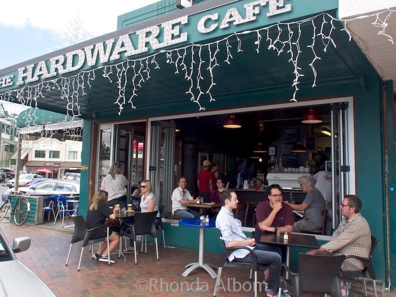 Hardware Cafe in Titirangi, Auckland, New Zealand