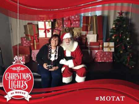 Santa Clause at MOTAT in Auckland New Zealand