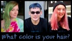 DeJa Vu: New Zealand's Rainbow of Random Hair Color