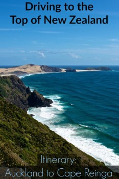 New Zealand Itinerary driving from Auckland to Cape Reinga
