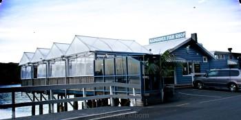 Mangonui Fish Shop is a landmark amongst the Far North restaurants in New Zealand.