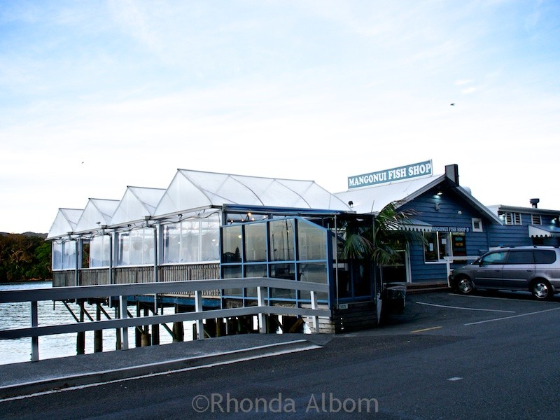Mangonui Fish Shop is a landmark amongst the Far North restaurants in New Zealand.
