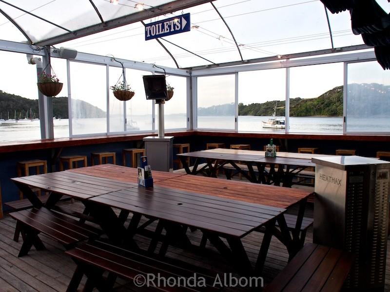 Inside Mangonui Fish Shop is a landmark amongst the Far North restaurants in New Zealand.