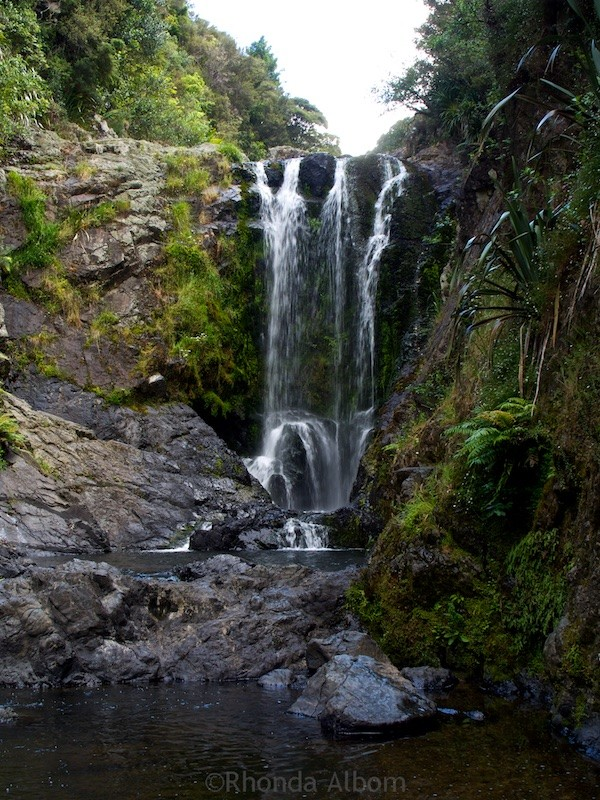 Piora Falls north of the Brynderwyns. One of the waterfalls on the North Island of New Zealand