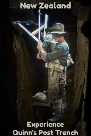 Created by Sir Peter Jackson, this realistic experience takes you through the trenches of WWI with all the sights, sounds and smells experienced by the soldiers.