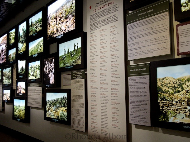 So much information available at the Great War Exhibition by Sir Peter Jackson in Wellington New Zealand