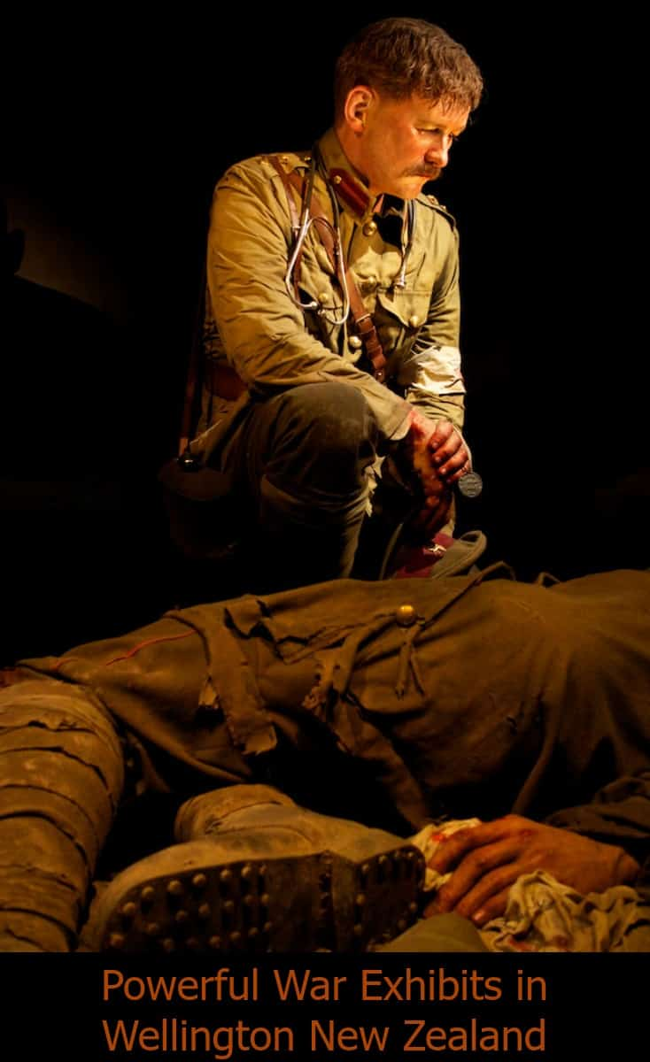 Gallipoli The Scale of our War at TePapa the National Museum of New Zealand in Wellington