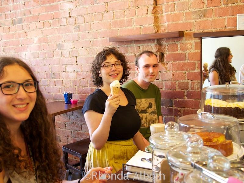 Kaffee Eis in Wellington New Zealand