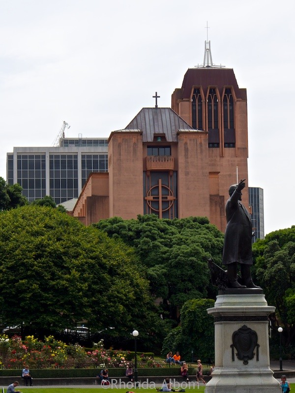 Exterior New St Paul Cathedral in Wellington New Zealand