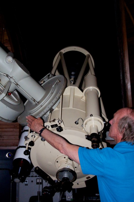 Zeiss telescope at Stardome Observatory in Auckland New Zealand