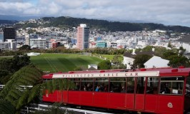Cable Car: #AtoZ Postcards of New Zealand