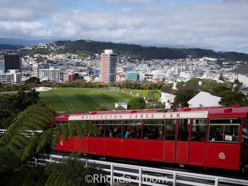 Cable Car in Wellington New Zealand