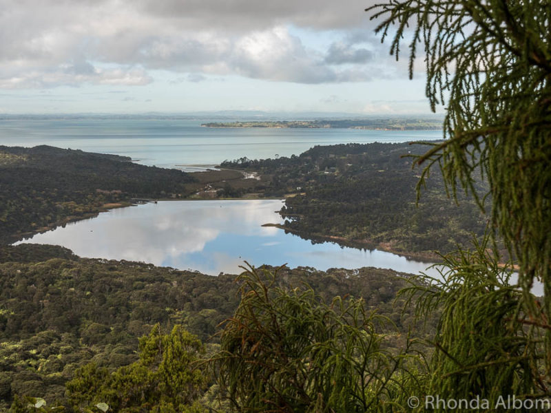 Views from the Arataki Visitors Centre in the Waitakere Ranges, Auckland, New Zealand