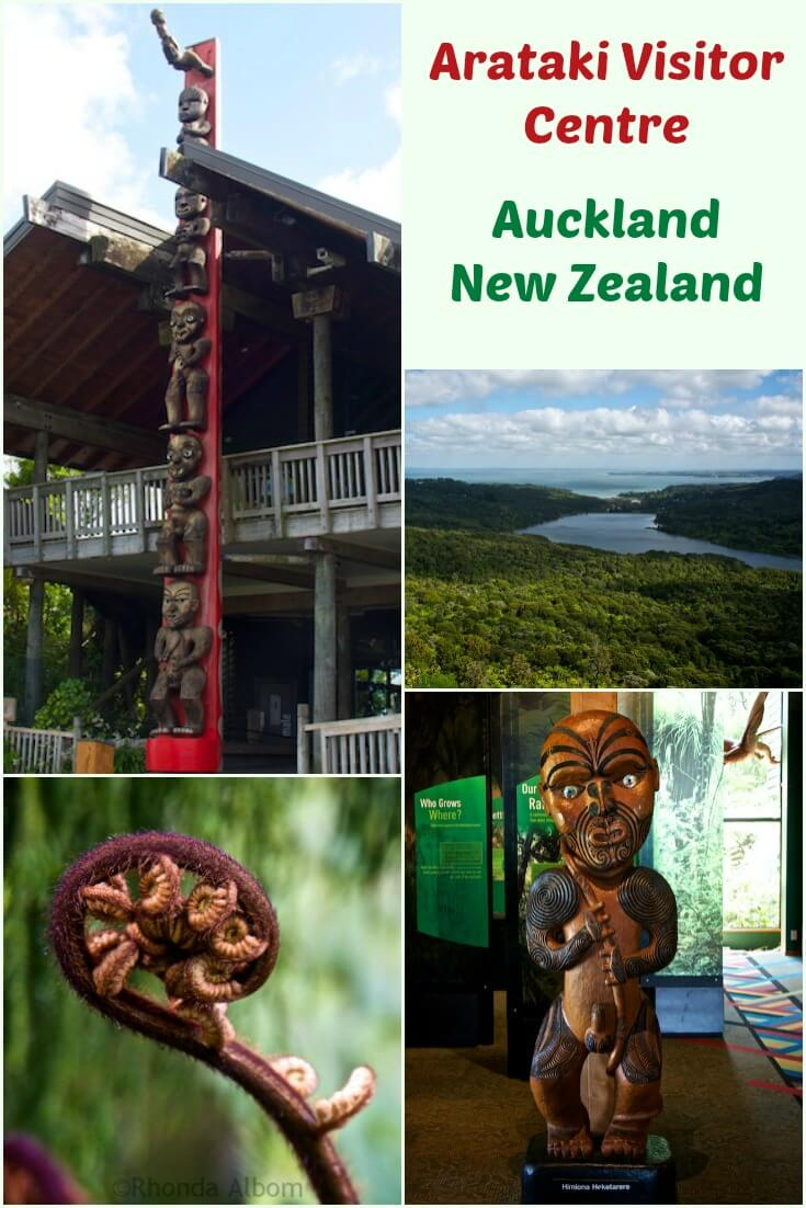 Arataki Visitor Centre, the gateway to the Waitakere Ranges, a subtropical rainforest just 30 minutes outside of Auckland New Zealand. #travel #rainforest #Maori #NewZealand