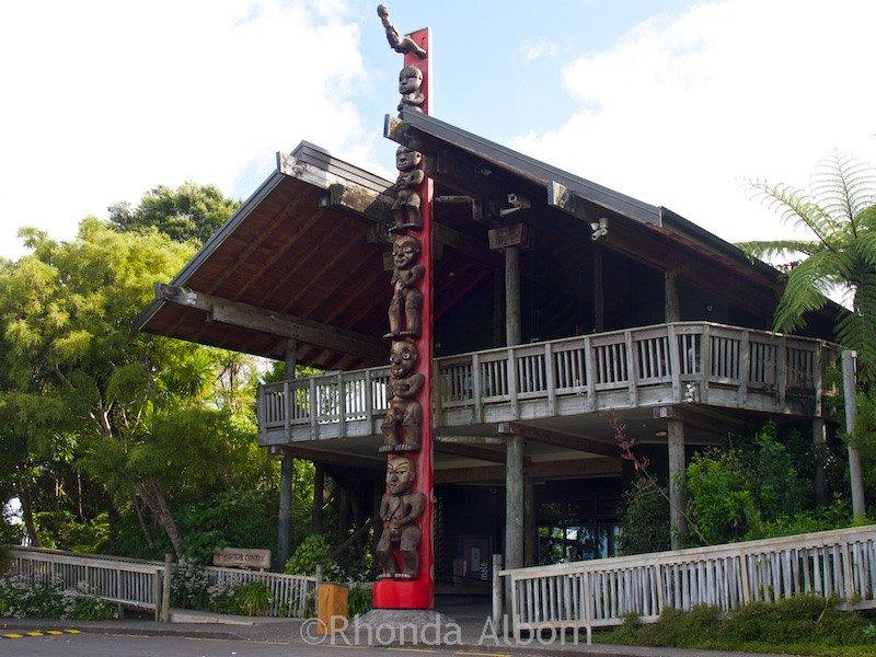 Arataki Visitors Centre in the Waitakere Ranges, Auckland, New Zealand