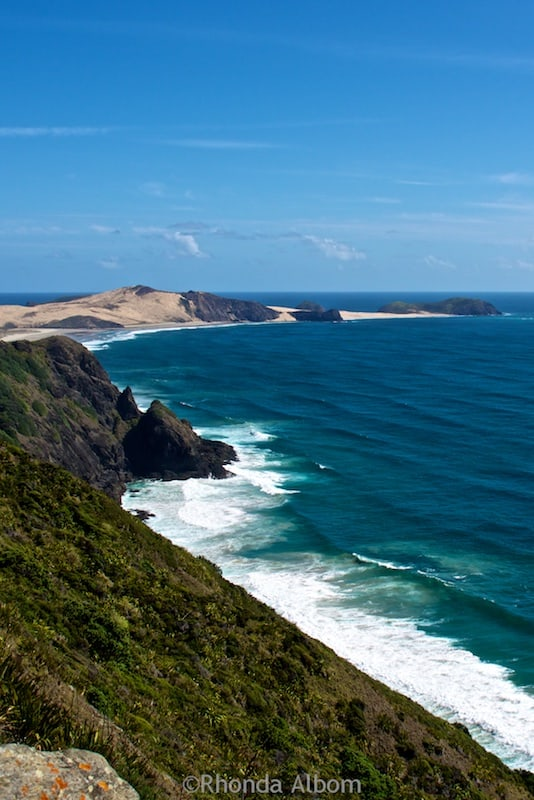 Aupouri Peninsula at the Northern tip of New Zealand