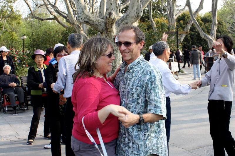 Jeff and Rhonda Albom - Media Plan Image - China