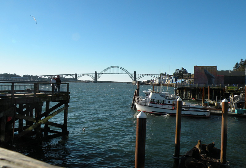 Hwy 101 bridge over Newport Bay.Photo by Steve Smith In The Know Traveler
