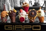 Colourful ice cream creations from Giapo in Auckland New Zealand