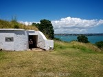 Entrance to one of the tunnels at North Head Historic Reserve in Devonport New Zealand