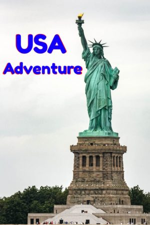 Statue of Liberty in New York city is one of the highlights of a USA adventure