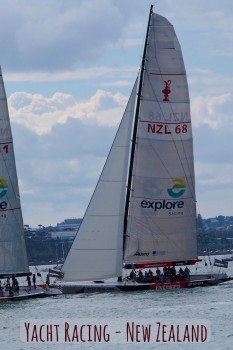 Whether you're recreational yacht racing in Auckland or watching professionals, life here revolves around the water.