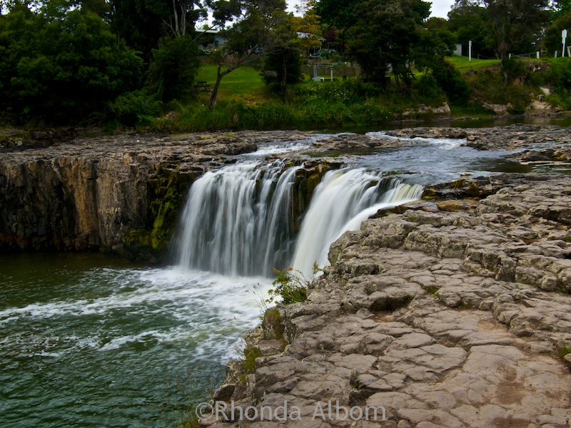 Waterfall in KeriKeri, New Zealand