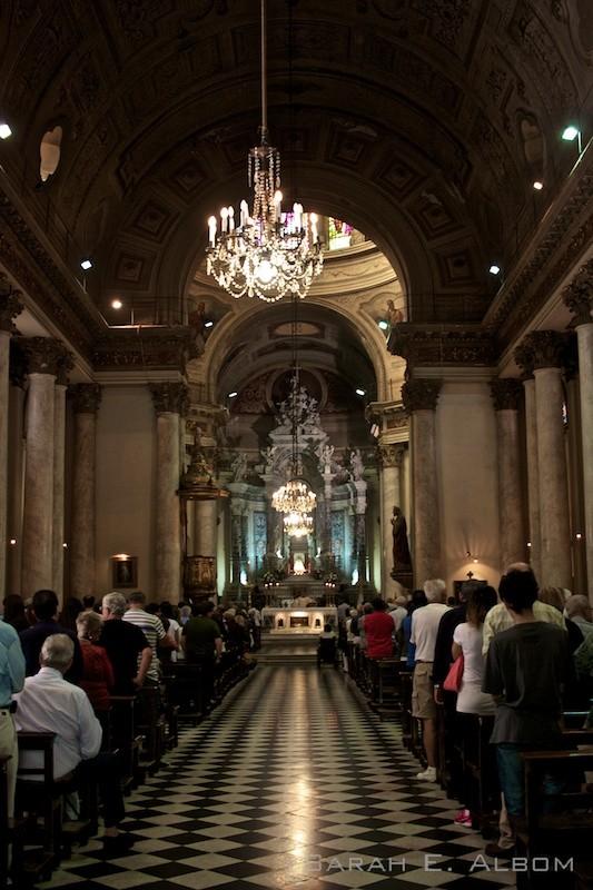 Iglesia Catedral in Rosario, Argentina. Photo copyright ©Sarah Albom 2016