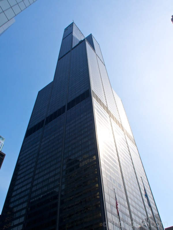 Willis Tower in Chicago Illinois USA