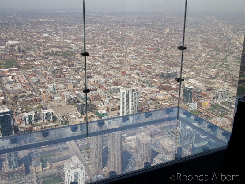 Skydeck Chicago ledge on 103 Floor in the Willis Tower, Chicago
