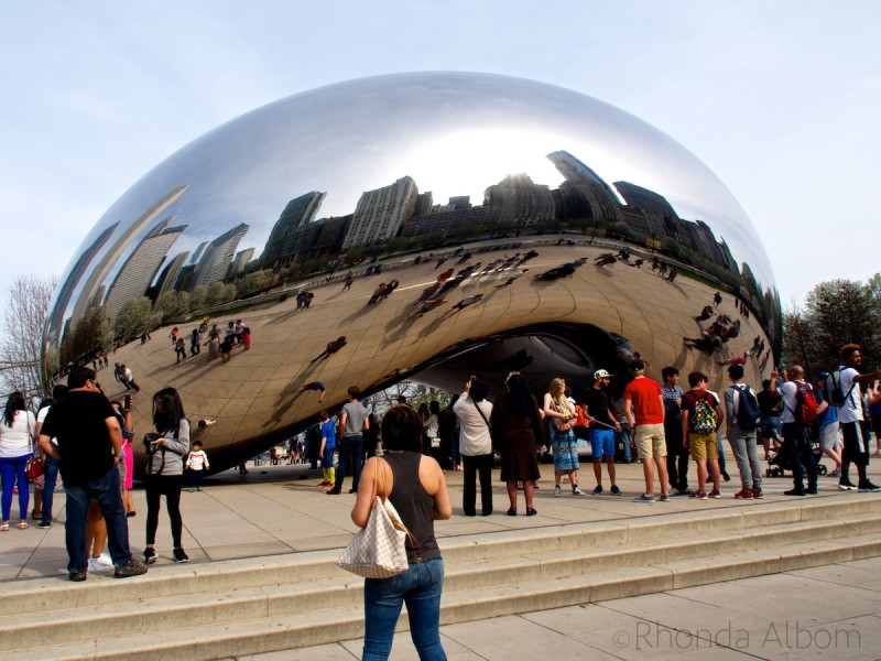 The Bean Sculpture in Chicago